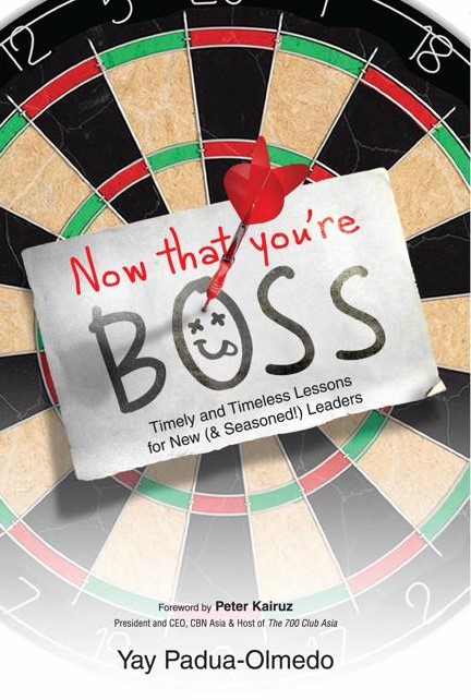 BOOK REVIEW: NOW THAT YOU'RE BOSS
