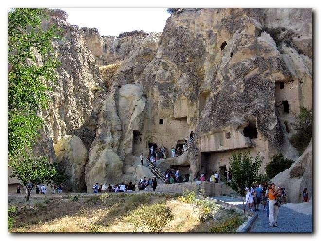 Museo al Aire Libre de Goreme en Capadocia