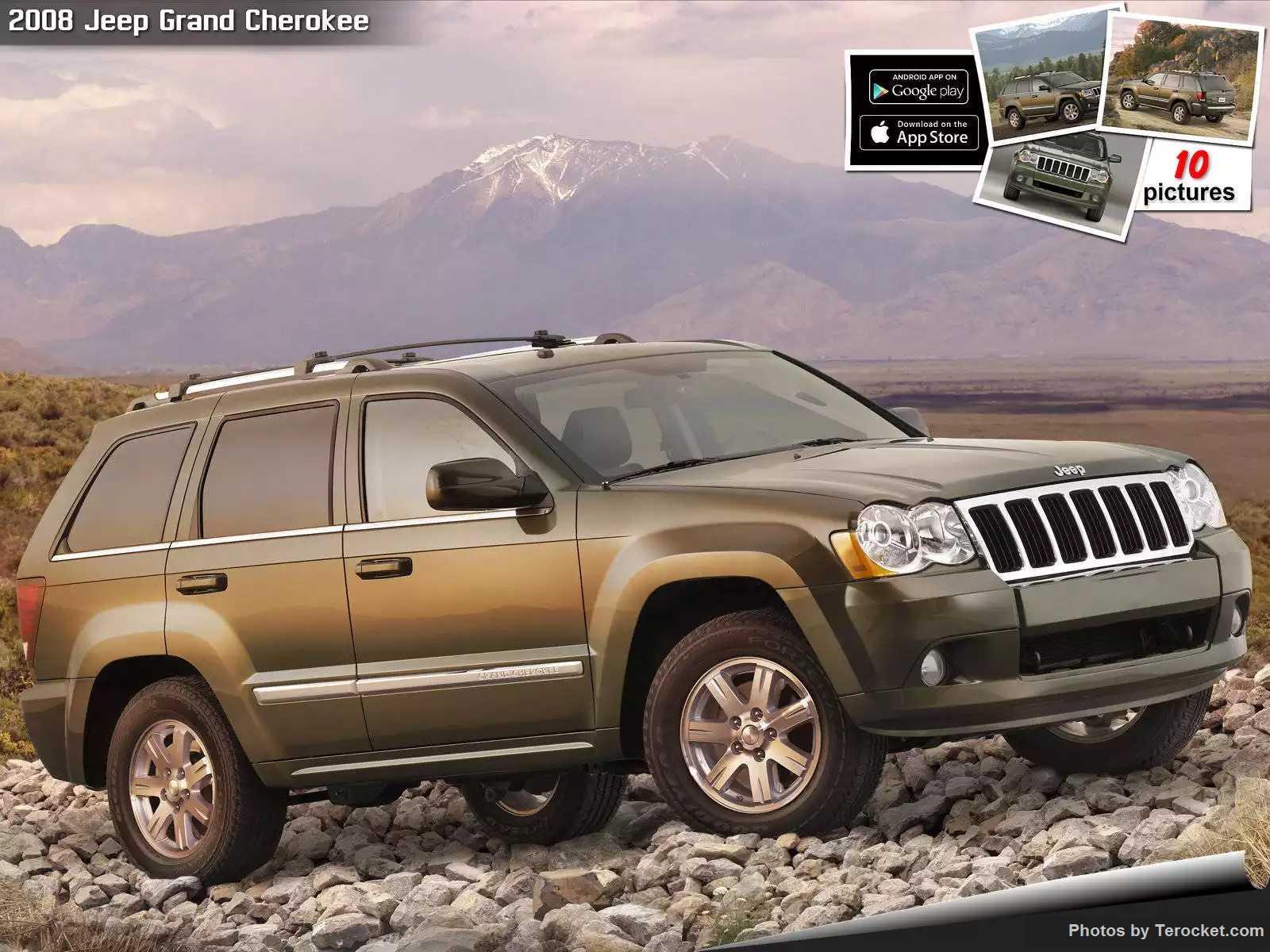 Hình ảnh xe ô tô Jeep Grand Cherokee 2008 & nội ngoại thất
