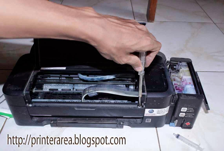 Cara Mengatasi Tinta Tidak Keluar Pada Epson L110 L300l350l355 Printer L310 L 310