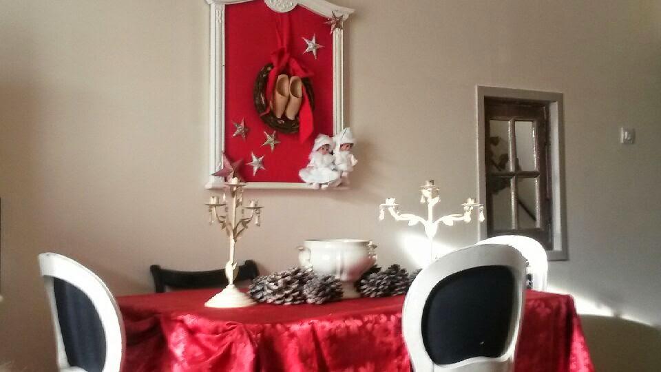 Récupération, recyclage, cadre recyclé, Noël, décoration