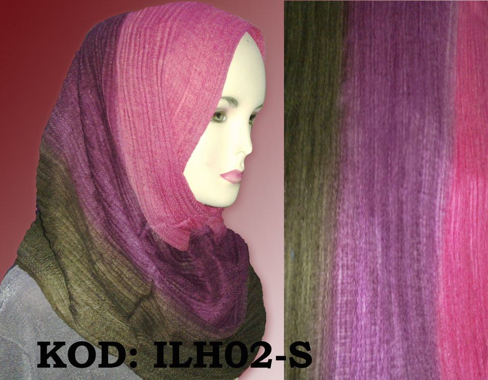 Shawl Pashmina Cotton 3 Tone