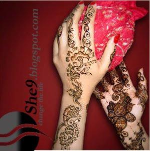 Simple arabic mehndi designs for behind