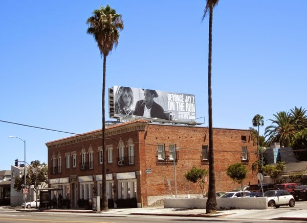 Beyoncé Jay Z On The Run HBO billboard