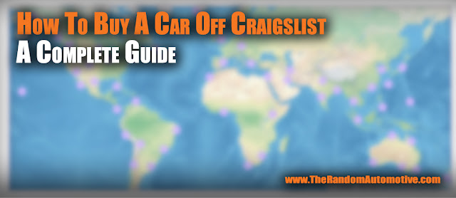 buying a car off craigslist guide information random automotive