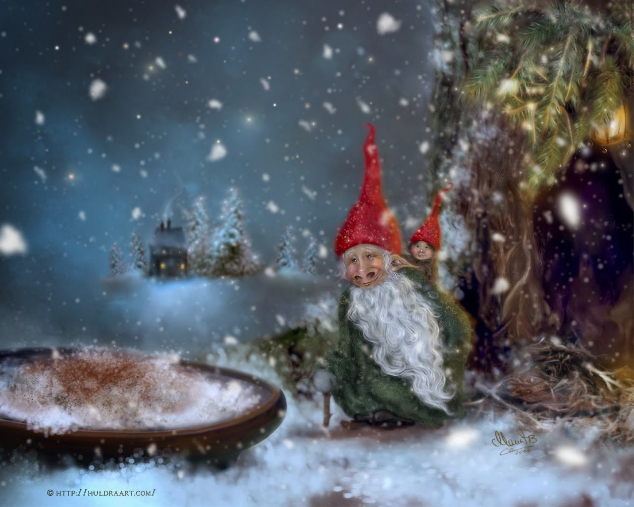 Christmas Is Awesome And So Should You: 12- Tomte/Nisse on yule lads, ded moroz, father christmas, santa claus, christmas elf, la befana, yule goat, christmas mountains,