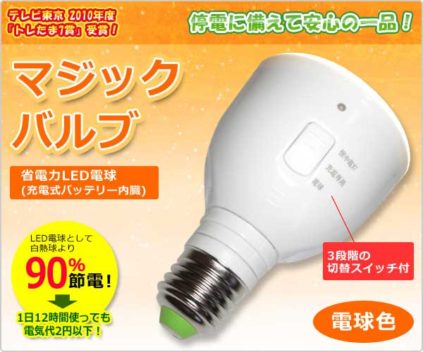 Magic Bulb Flashlight 魔術燈泡手電筒