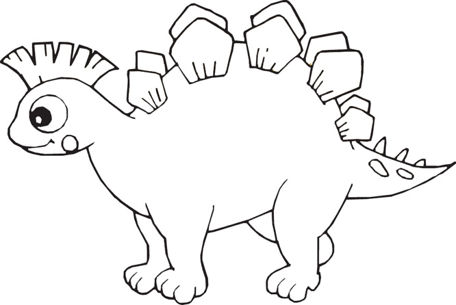 printable dinosaur coloring page - Childrens Coloring Pages Dinosaurs