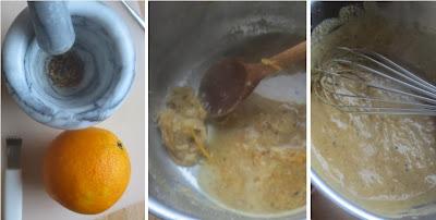 Orangen-Sesam-Sauce