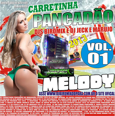 CD CARRETINHA PANCADÃO VOL.01 DJS BIROMIX E DJ JECK MARUJO / LANÇAMENTO