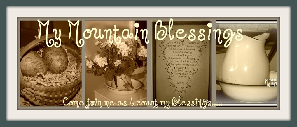 My Mountain Blessings.