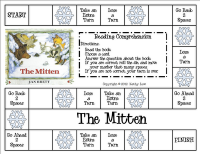 Sharing Kindergarten: The Mitten by Jan Brett Ideas