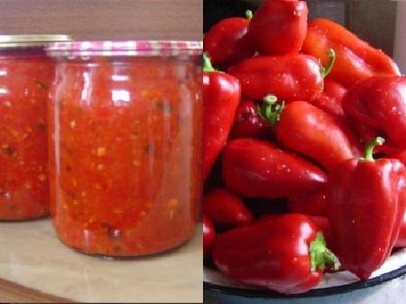 Рецепт аджики из болгарского перца на зиму с яблоками и без