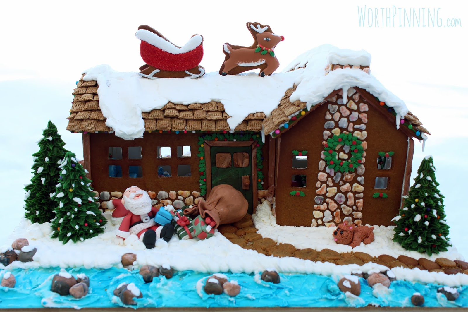worth pinning 11th annual casa gingerbread house competition