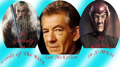 Ian McKellen: As Gandalf
