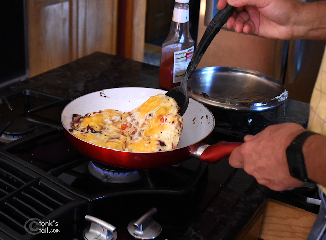 here's one reason why: Marty LOVES to cook. And cooking smells hover in the air for HOURS.