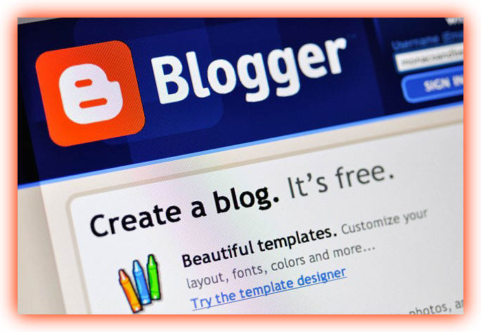 how to create a blog using google blogger