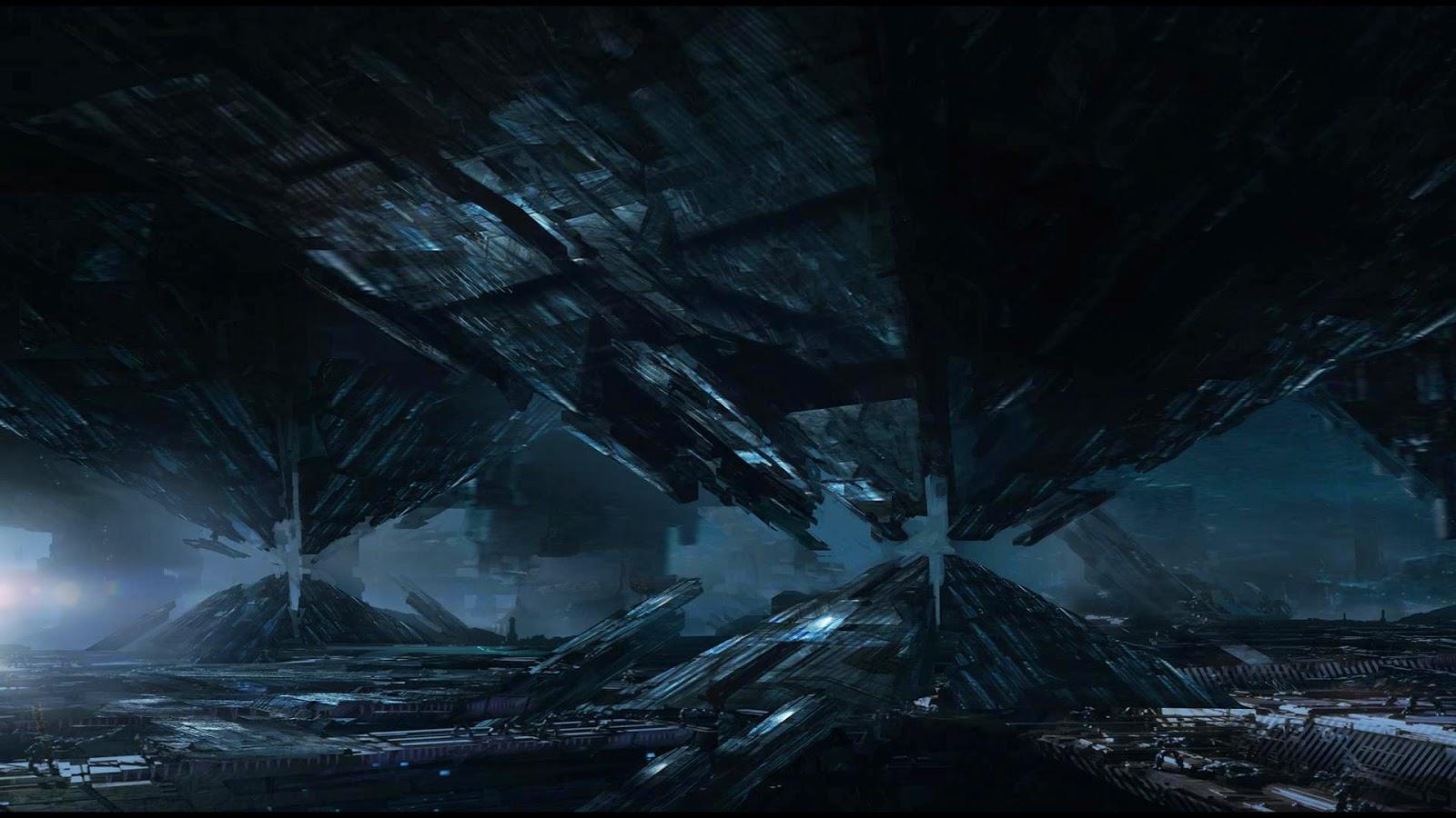 Mass effect 4 concept art post game lobby