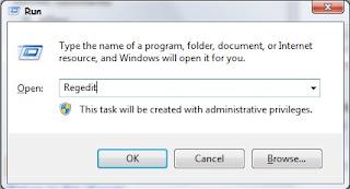 Cara Membackup Registry Windows 7