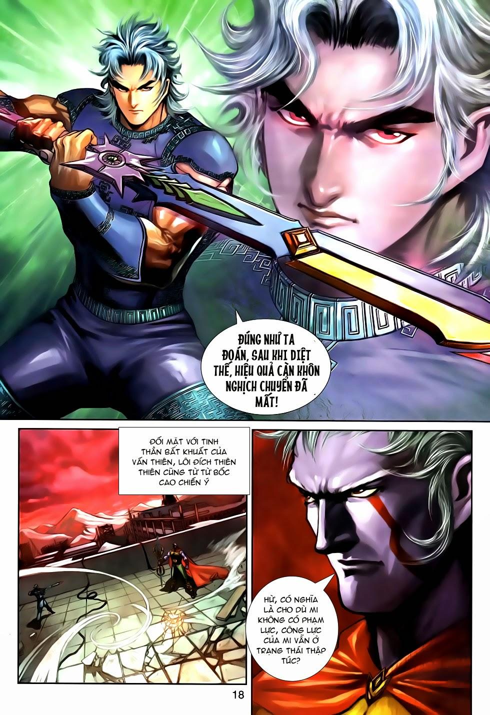 Thần Binh Tiền Truyện 2 chap 21 Trang 18 - Mangak.info