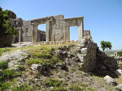 בית הכנסת במירון לאחר עבודות השימור