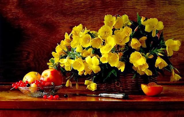 cuadros-al-oleo-de-flores-amarillas