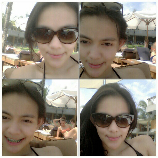 2 Foto Rini Feblita, Si Cantik Imut Crew TRANS TV