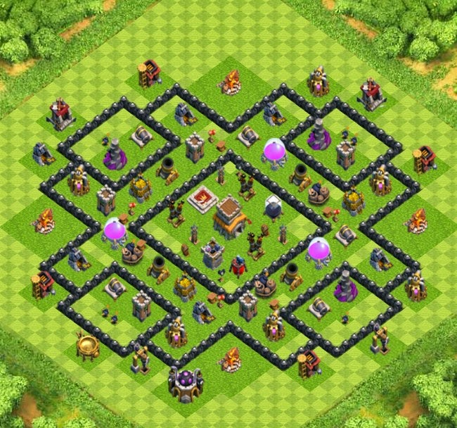 war trophy base town hall 8 designs with air sweeper clash of