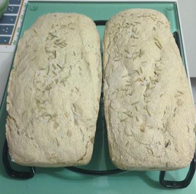 Pão da Toscana com Alecrim e Sal Grosso