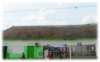 Inilah Stasiun Parung Panjang sebelum renovasi