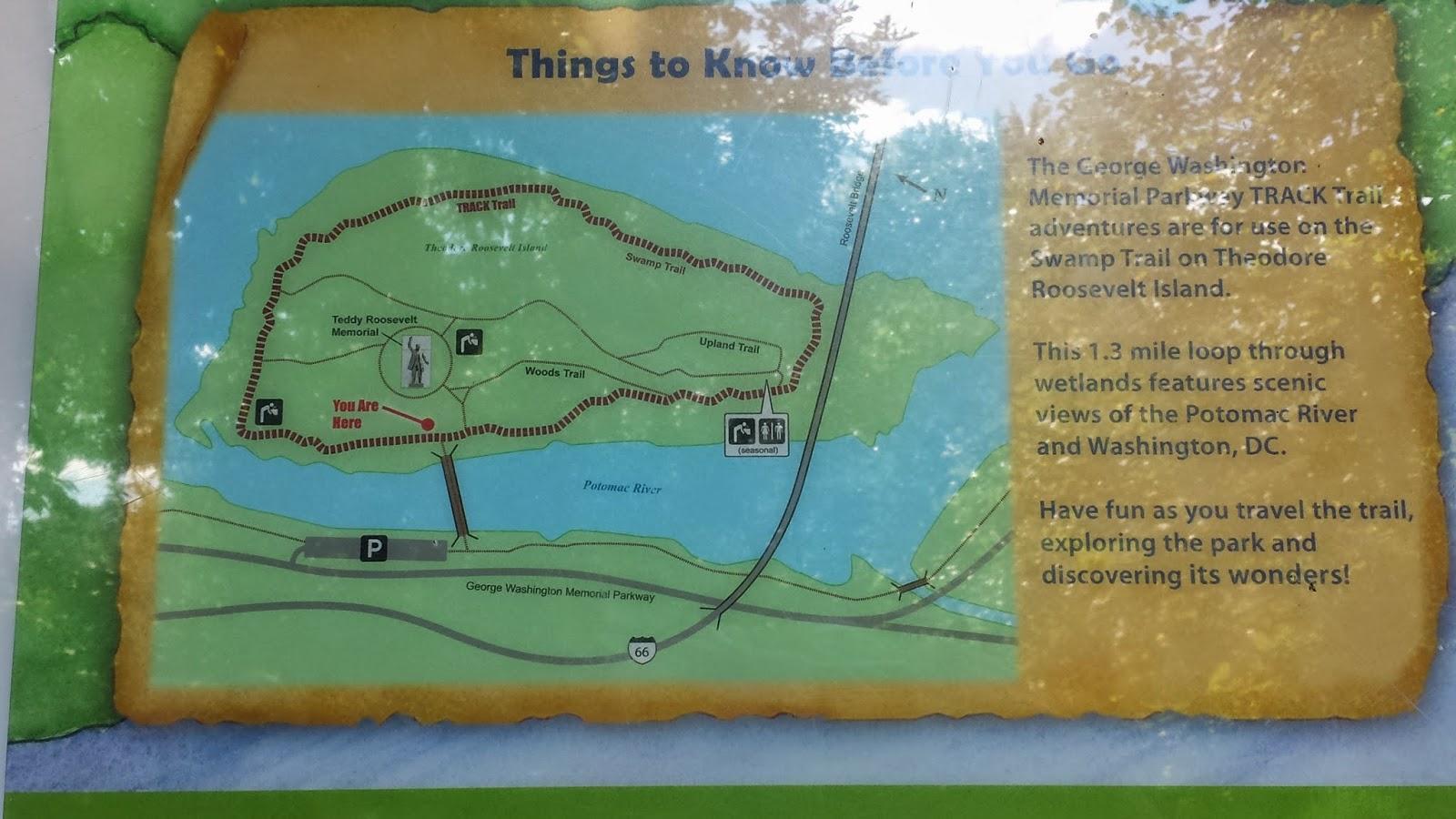 map theodore roosevelt island