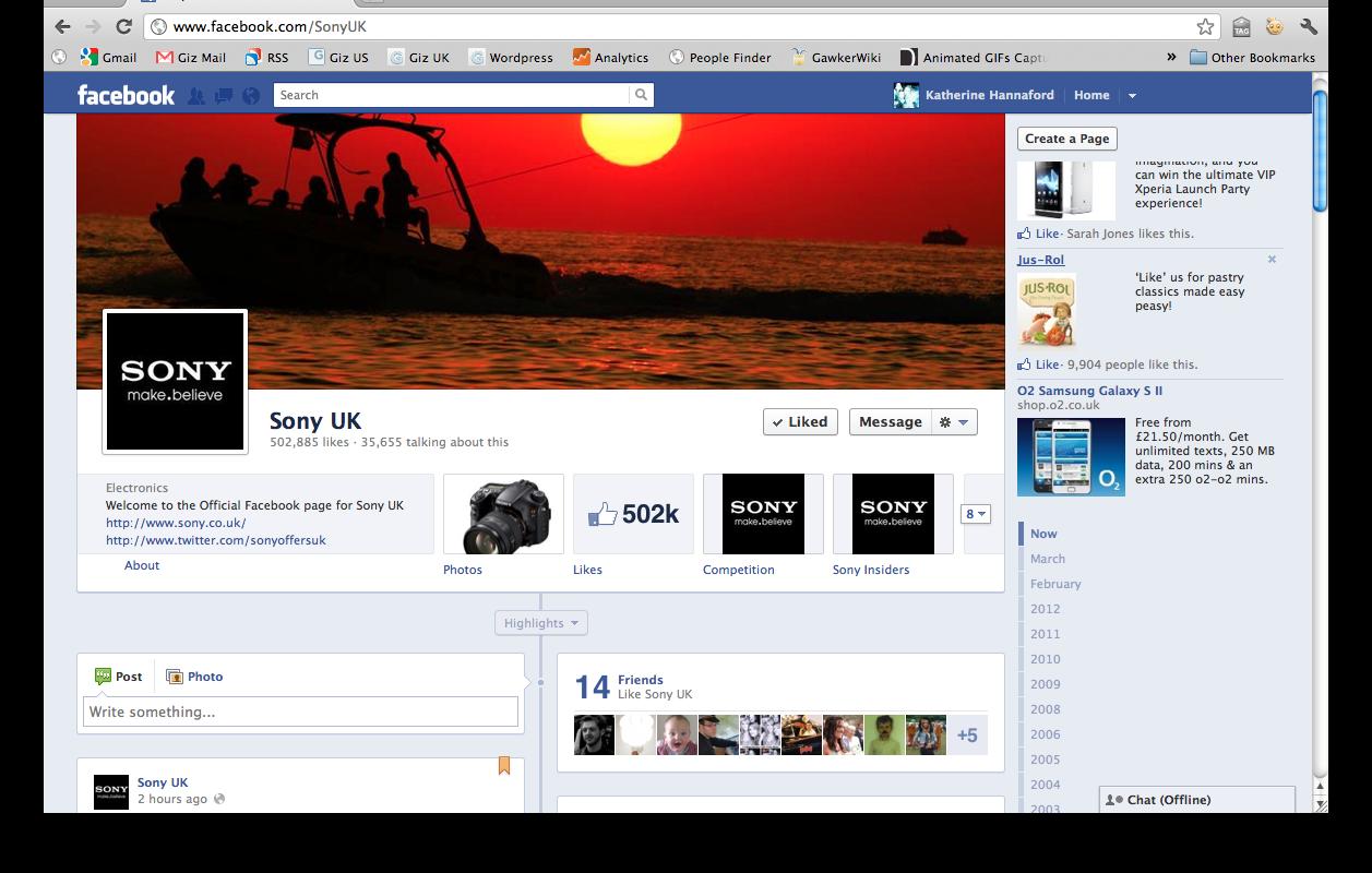 membaca artikel tentang desain cover facebook timeline keren gokil