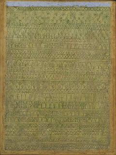 Paul Klee painting - Pastoral (rhythms)