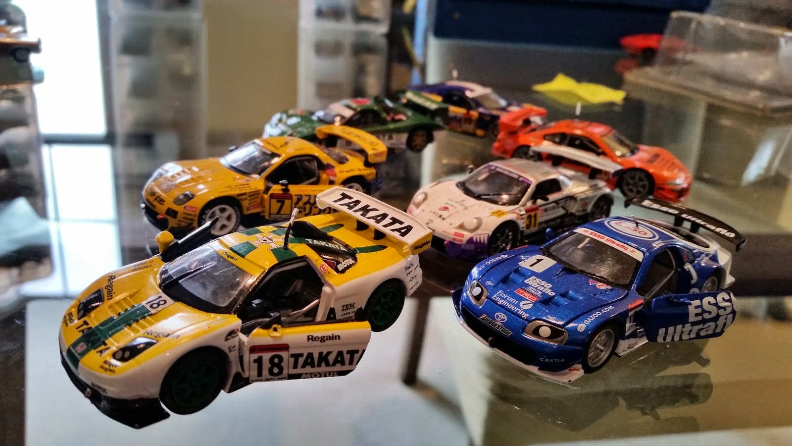 Matchbox Frenzy Perfect Japanese Touring Car Race Cars From