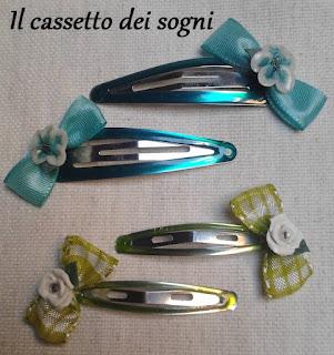 Mollette per capelli Mollette+verdi