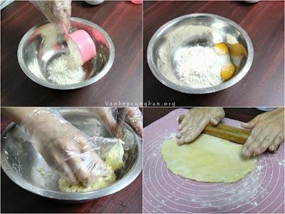 Cách làm bánh trứng KFC - Bánh Egg Tart 2