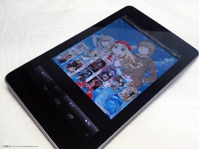 Nexus 7 のBOOK☆WALKER