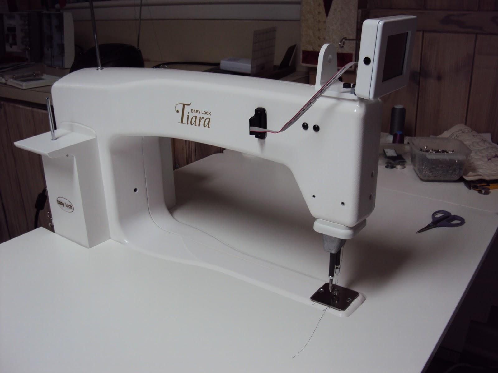 george mid arm quilting machine