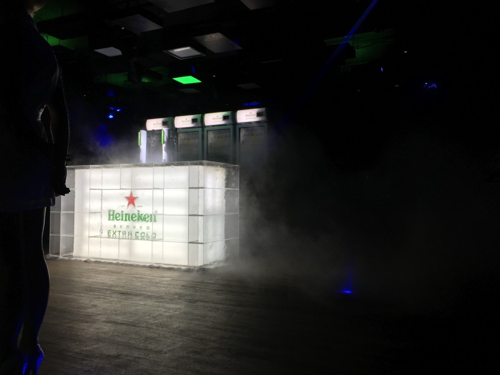 Launch Party of Heineken Extra Cold Singapore