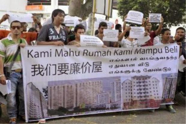 Polisi Kerajaan DAP Minta Duit Sumbangan Punca Gagal Bina Rumah Kos Rendah