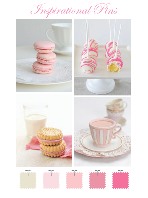 Pretty pink sweets
