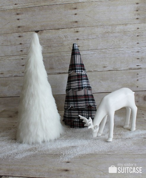 Make a Faux Fur Tree