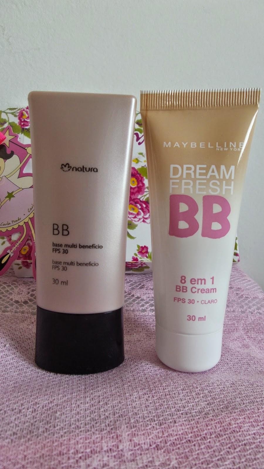 BB Maybelline e Natura