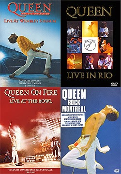 Queen en directo 6 DVDs