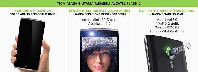 3 alasan utama membeli alcatel flash 2