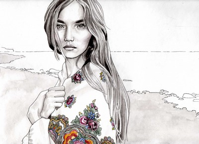 Hannah muller fashion illustrator 19