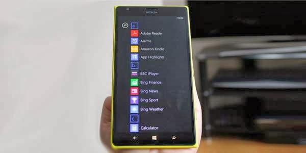 Inilah Penampakan Tampilan Windows Phone 8.1