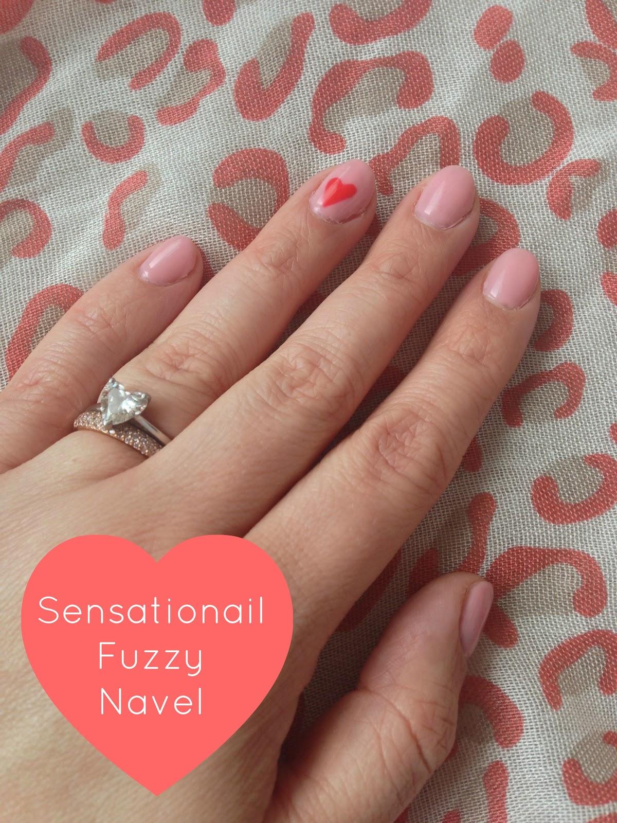 Nails of the Week- Sensationail Fuzzy Navel   Mrs Jones London