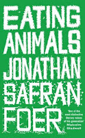 Book cover of Eating Animals by Jonathan Safran Foer
