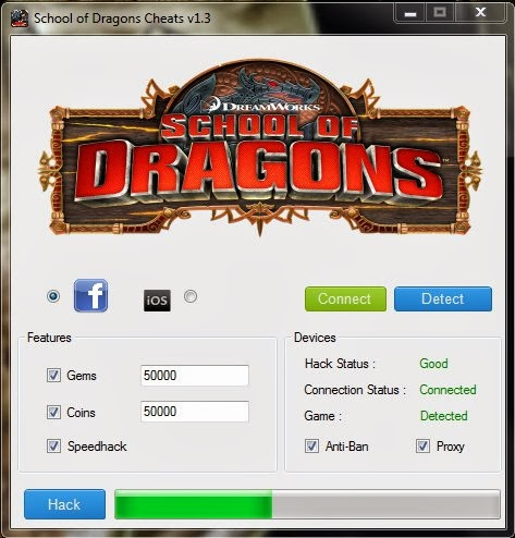 School of Dragons Cheat